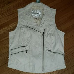 Maurice's leather vest